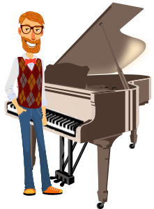 online piano lessons and courses
